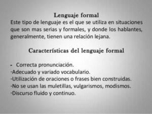 Lenguaje formal