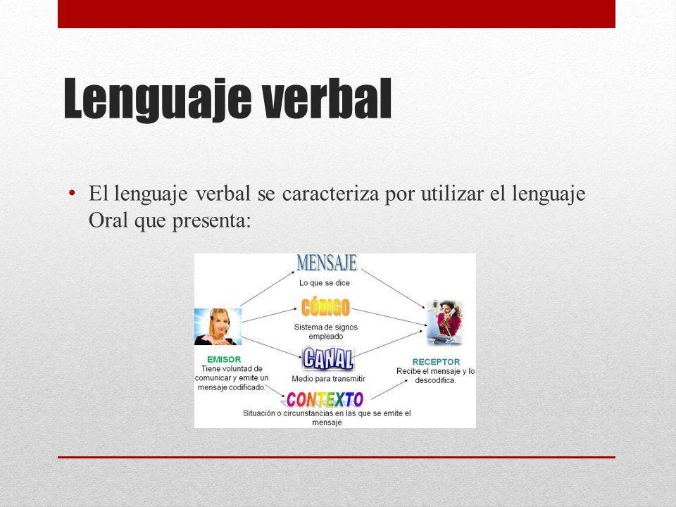 Lenguaje verbal